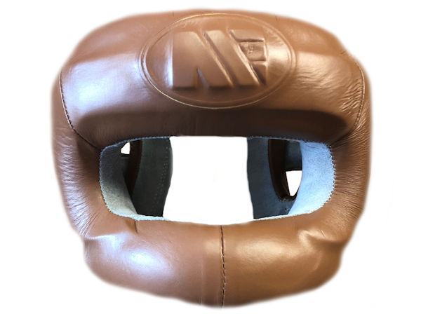 Main Event Boxing Heritage Pro Leather Headguard Full Face